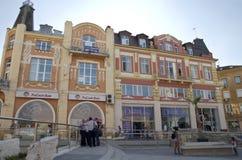 Het centrum van de Plovdivstad, Bulgarije royalty-vrije stock foto