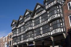 Het Centrum van de Stad van Chester, 2006 Stock Foto