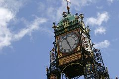 Het Centrum van de Stad van Chester, 2006 Royalty-vrije Stock Afbeelding