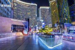 Het Centrum van de Stad van Vegas van Las Royalty-vrije Stock Fotografie