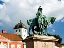 Het centrum van de Stad van Zweden Uddevalla Stock Afbeelding