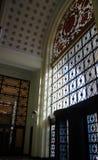 Het Centrum van de Tentoonstelling van Shanghai Royalty-vrije Stock Foto's