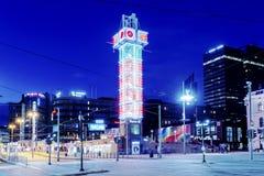 Het Centrum van de toeristeninformatie in de Stadswinkelcentrum van Oslo op 28 Juli, 2016 in Oslo, Noorwegen De Stad van Oslo is  Stock Fotografie