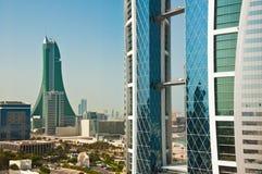 Het Centrum van de Wereldhandel, Bahrein. Royalty-vrije Stock Fotografie