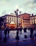 In het centrum van Florence Stock Afbeelding