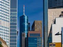 In het centrum van Frankfurt, Duitsland Royalty-vrije Stock Afbeeldingen