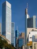 In het centrum van Frankfurt, Duitsland Royalty-vrije Stock Afbeelding