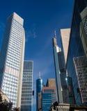 In het centrum van Frankfurt, Duitsland Royalty-vrije Stock Fotografie