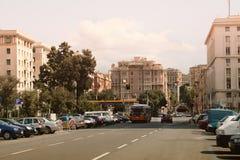 Het centrum van Genua stock foto's