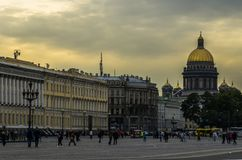 Het Centrum van heilige-Petersburg stock fotografie