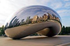 Het Centrum van het millennium in Chicago Van de binnenstad Royalty-vrije Stock Foto's