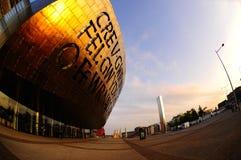 Het Centrum van het Millennium van Cardiff Stock Afbeelding