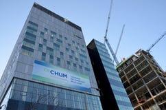 Het Centrum van het Universitede Montreal Ziekenhuis Stock Fotografie
