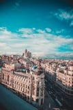 Het centrum van Madrid royalty-vrije stock afbeelding