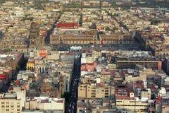 Het centrum van Mexico-City royalty-vrije stock afbeelding