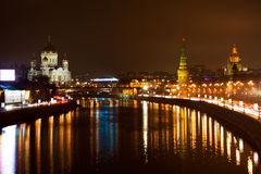 Het centrum van Moskou, het Kremlin royalty-vrije stock afbeeldingen