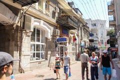 Het centrum van oude Yalta Stock Afbeelding