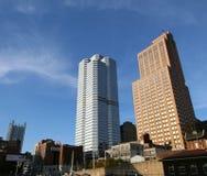 Het Centrum van Pittsburgh Oxford Stock Foto's