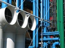 Het Centrum van Pompidou, Parijs. royalty-vrije stock afbeeldingen