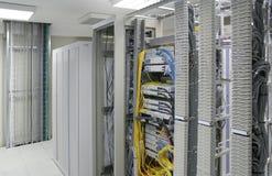 Het centrum van servers royalty-vrije stock afbeeldingen
