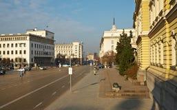 Het centrum van Sofia Stock Afbeelding