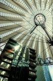 Het Centrum van Sony in Berlijn Royalty-vrije Stock Afbeelding