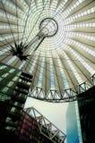 Het Centrum van Sony in Berlijn Royalty-vrije Stock Afbeeldingen