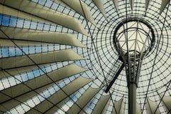 Het Centrum van Sony in Berlijn Royalty-vrije Stock Foto's