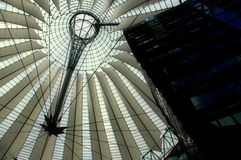 Het Centrum van Sony in Berlijn Royalty-vrije Stock Foto