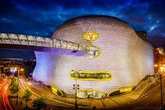 Het centrum van stierenring shopping, Birmingham stock afbeeldingen
