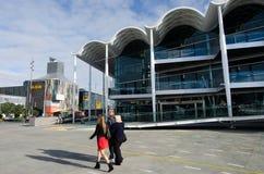 Het Centrum van viaductgebeurtenissen, Auckland Stock Fotografie