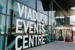 Het Centrum van viaductgebeurtenissen, Auckland Stock Afbeeldingen