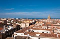 Het Centrumlandschap van Palermo Stock Foto's