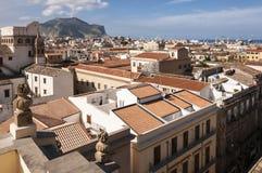 Het Centrumlandschap van Palermo Stock Afbeeldingen