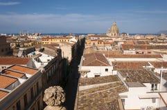 Het Centrumlandschap van Palermo Royalty-vrije Stock Foto's