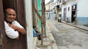 Het centrumstad van Cuba, Havana stock foto's
