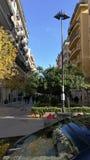 Het Centrumstraat van Palermo, Sicilië, IT Stock Fotografie