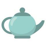 het ceramische beeld van de theepotdrank royalty-vrije stock fotografie