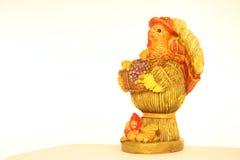 Het ceramische Stuk van de Dankzegging Royalty-vrije Stock Foto's