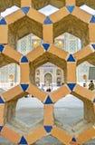 Het ceramische traliewerk royalty-vrije stock afbeeldingen