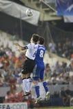 Het CF van Valencia versus Chelsea Stock Afbeelding