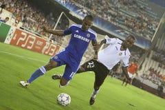 Het CF van Valencia versus Chelsea Royalty-vrije Stock Foto