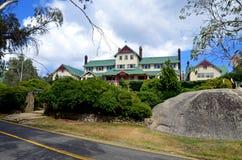 Het Chalet zet Buffels Nationaal Park, Victoria, Australië op royalty-vrije stock afbeelding