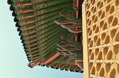 Het Changdeokgungpaleis is het meestbewaard van koninklijke Joseon-paleizen Royalty-vrije Stock Foto's