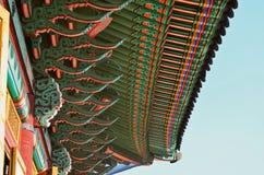 Het Changdeokgungpaleis is het meestbewaard van koninklijke Joseon-paleizen Stock Afbeeldingen