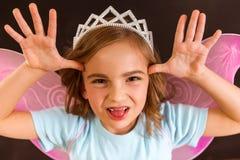 Het charmeren van weinig fee Royalty-vrije Stock Afbeelding