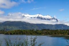 Het Chileense landschap van Patagonië Stock Fotografie