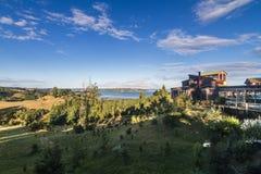 Het Chileense landschap van Patagonië Stock Afbeelding