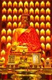 Het Chinese beeld van stijlBoedha Stock Afbeelding