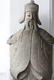Het Chinese beeldhouwwerk van de glimlach Royalty-vrije Stock Foto